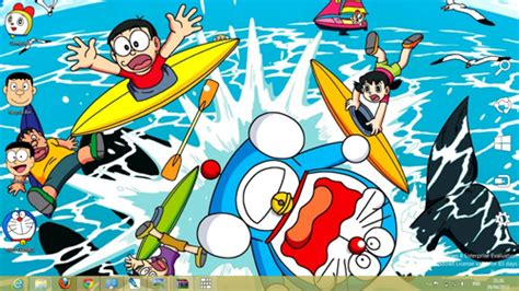 themes doraemon for pc doraemon theme for windows 7 and 8 ouo themes