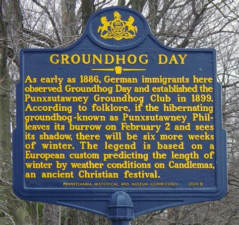 groundhog day legend 93 best images about historical markers on