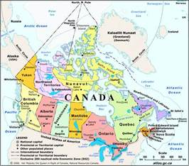 rivers of canada map geography
