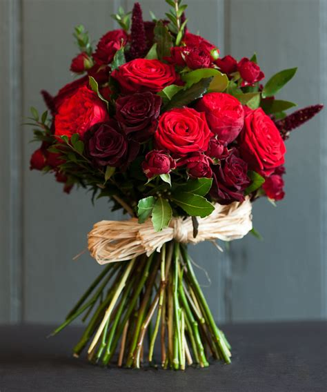 50 shades of darker flower bouquet 50 shades of red fabulous flowers