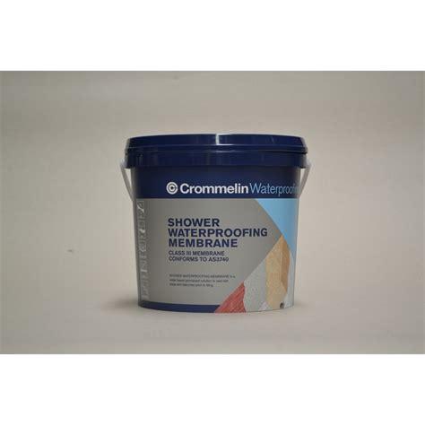 Shower Waterproofing Products by Crommelin 4l Shower Waterproofing Membrane Bunnings
