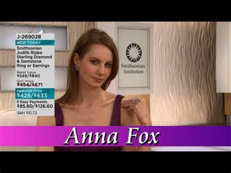 former hsn models qvc model anna fox youtube