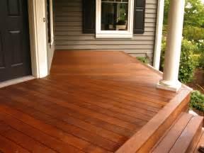 stained cedar deck color deck deck colors