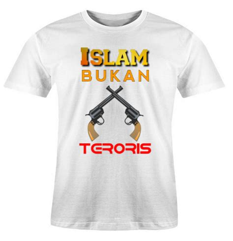 Baju Kaos Muslim baju kaos muslim islam bukan teroris jual baju kaos