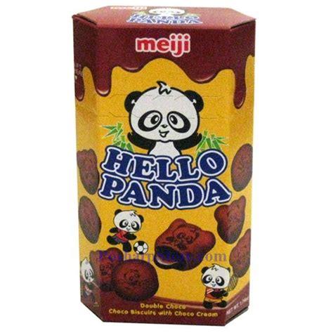 Meiji Hello Panda Biscuit meiji hello panda choco biscuits with choco 1 74 oz