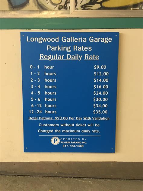 Longwood Parking Garage by Galleria Garage Parking In Boston Parkme