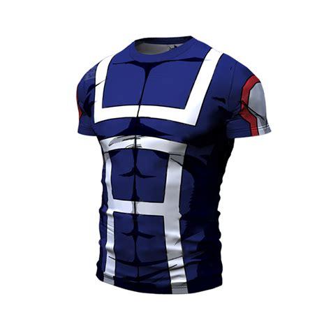 b07j3gtxv7 my hero academia t my hero academia tank top deku t shirt all might sport gym