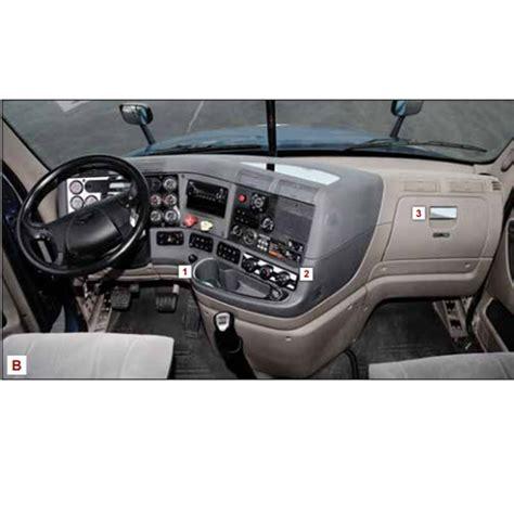 Freightliner Cascadia Interior Accessories by Big Rig Chrome Shop Semi Truck Chrome Shop Truck