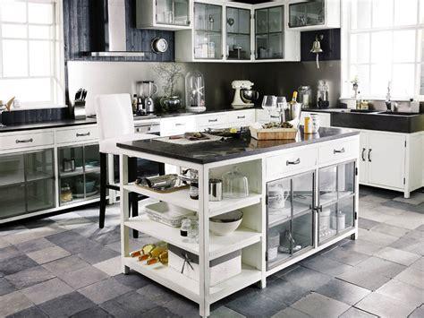 meuble de cuisine ind駱endant meubles de cuisine ind 233 pendant et ilot maison du monde
