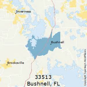 map of bushnell florida best places to live in bushnell zip 33513 florida