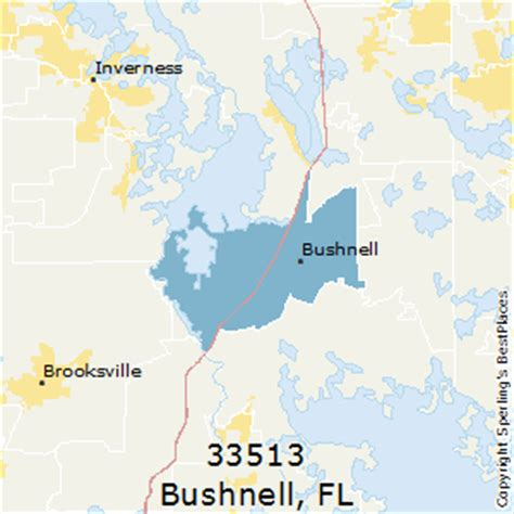 bushnell florida map best places to live in bushnell zip 33513 florida