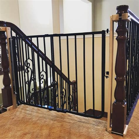 safety gate for top of stairs with banister stair safety in temecula ca baby safe homes