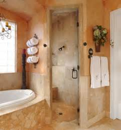 Tuscan Bathroom Design by Home Dzine Bathrooms A Tuscan Bathroom