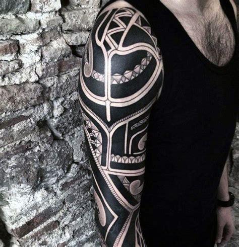 badass tribal tattoos for guys cool mens badass tribal tattoos arm sleeve design