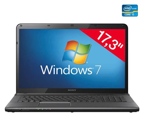 Laptop Sony I5 Ram 4gb buy sony vaio sve1711r1eb 17 3 quot laptop i5 4gb ram 750gb hdd win 7hp at ijt direct