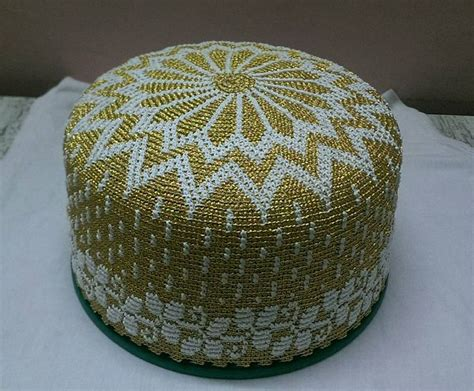 Stitch Topi bohra design golden kasab topi dawoodi bohra topi design cupcake cross stitch