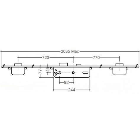 Gridlock Door Locks by Gridlock 3 Deadbolt 45 X 92 Gridlock Composite Door Locks