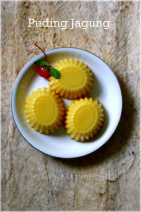 hestis kitchen yummy   tummy puding jagung