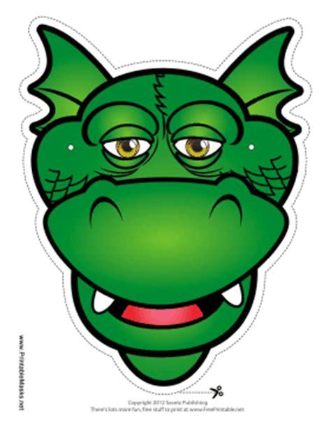 printable masks dragon printable silly dragon mask mask