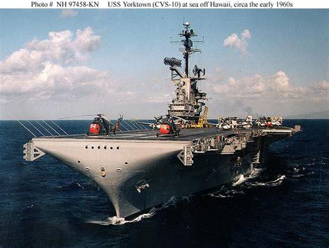 sea tow vs boat us usn ships uss yorktown cv 10 later cva 10 cvs 10