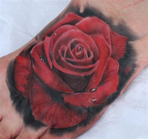 red rose tattoos 60 pictures of terrific golfian