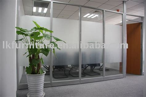 glass partition design great design of office glass partition wall in aluminium