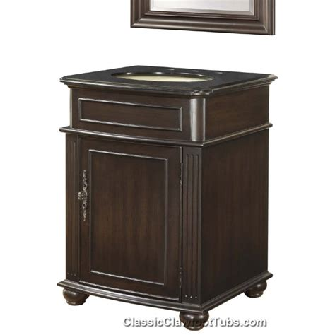 24 Vanity Cabinet by 24 Quot Vanity Cabinet Set Classic Clawfoot Tub
