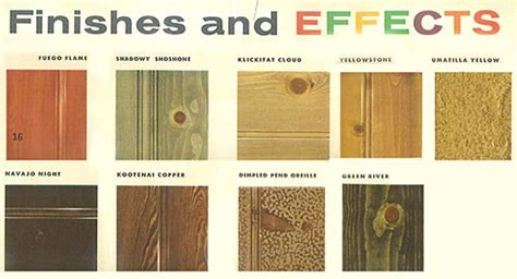 101 design ideas to decorate knotty pine 24 page catalog from 1960 retro renovation