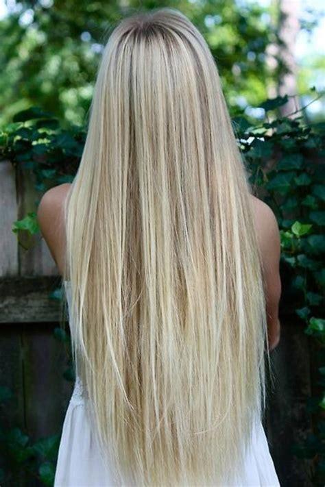 Long silky straight blonde hair charming long blonde strai flickr