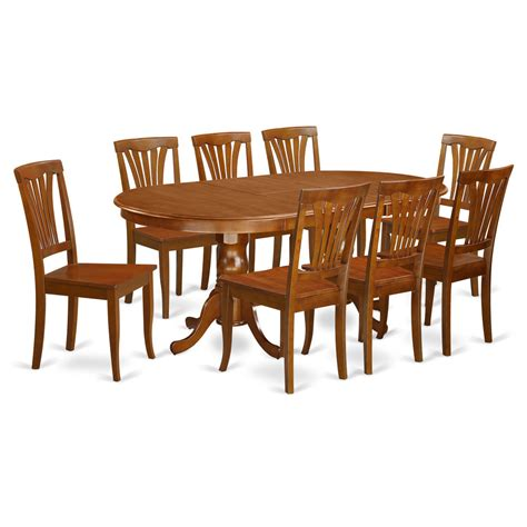 9 Piece Dining Room Set Dining Table With 8 Kitchen Dining Furniture Dining Room Table Set