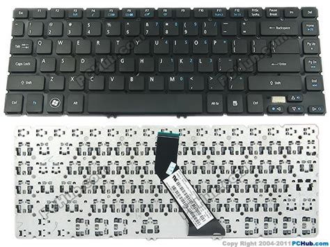 Keybord Keyboard Acer V5 471 Baru 1 acer aspire v5 471 series keyboard 90 4tu07 o1d mp 11f73u4 4424 nk i1413 01s