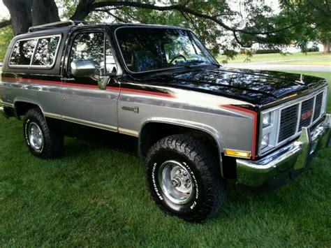 how petrol cars work 1993 chevrolet s10 blazer electronic throttle control 1986 gmc chevy k5 k15 jimmy blazer 4x4 k1500 for sale in van wert ohio united states