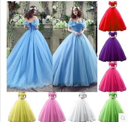 what color is cinderella s dress custom made many kinds of colors cinderella princess dress