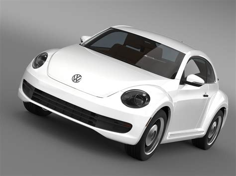 volkswagen classic models volkswagen beetle classic 2015 3d model max obj 3ds fbx