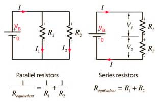 physics for spm series and parallel circuits