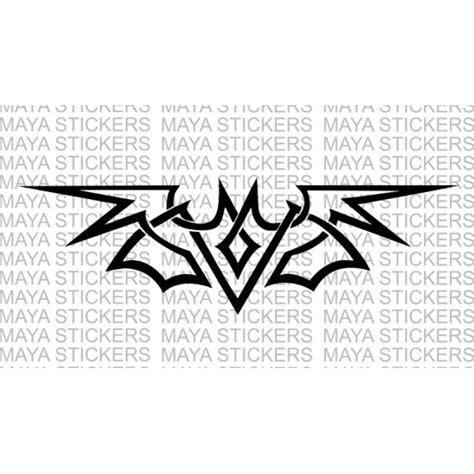 Tribal Sticker Design Decals by Batman Stickers In Tribal Design