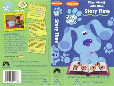 Baby Classsic Stroy Pijamas image storytimeaustraliancover jpg blue s clues wiki