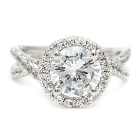 cut braided shank engagement ring ar2