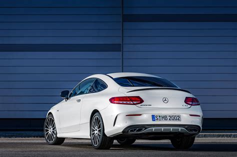 2017 mercedes amg c43 coupe joins sedan with 362 hp v 6