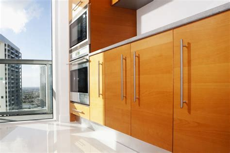 contemporary cabinet doors contemporary cherry flat panel kitchen asian cabinet