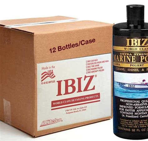 ibiz 174 marine polish the best boat wax wax direct - Ibiz Boat Wax