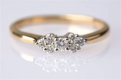 antique engagement ring 2 very pretty and diamonds are