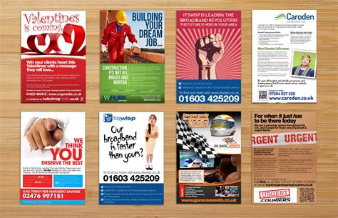 leaflet design website flyer and leaflet design norwich norfolk website design
