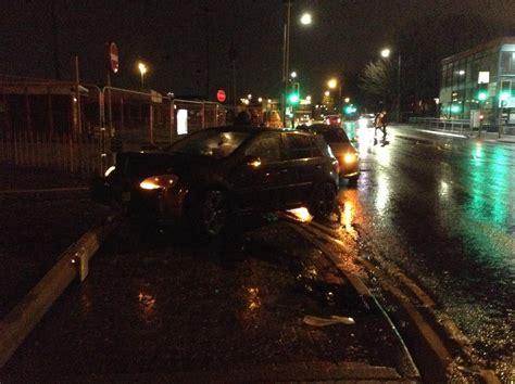 labour car crash andy burnham involved  bolton car