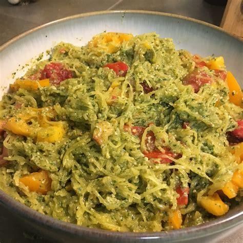 recipe rogue spaghetti squash pesto rogue produce