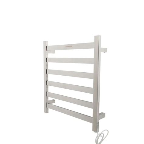 Towel Rack Warmer by Anzzi Note 6 Bar Stainless Steel Wall Mounted Electric