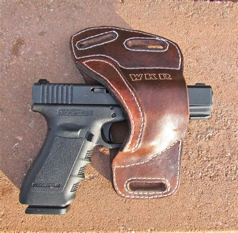 Handmade Gun Holsters - custom personalized leather gun holster by ozark mountain