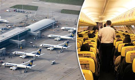stanstead air stansted airport flights update as ryanair plane escorted