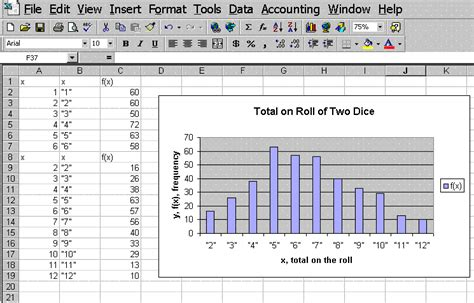 Spreadsheet Graph by Spreadsheet Pg 7 Make A Bar Graph Or A Histogram