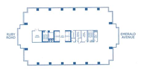 Open Floor Plan Layout wynsum corporate plaza